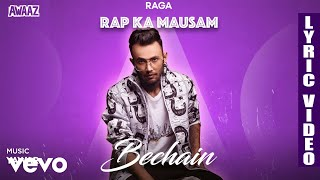 Bechain - Official Lyric Video | Raga | Bechain