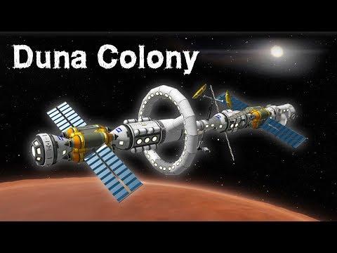Download KSP: Building a DUNA Space Station!