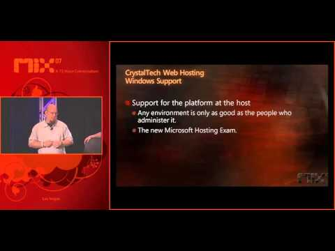 MIX07 Web Hosting for Web Designers and Developers