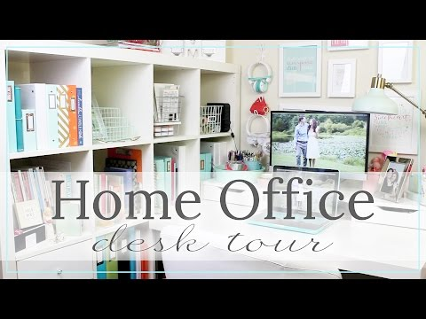 Home Office Desk Tour Update