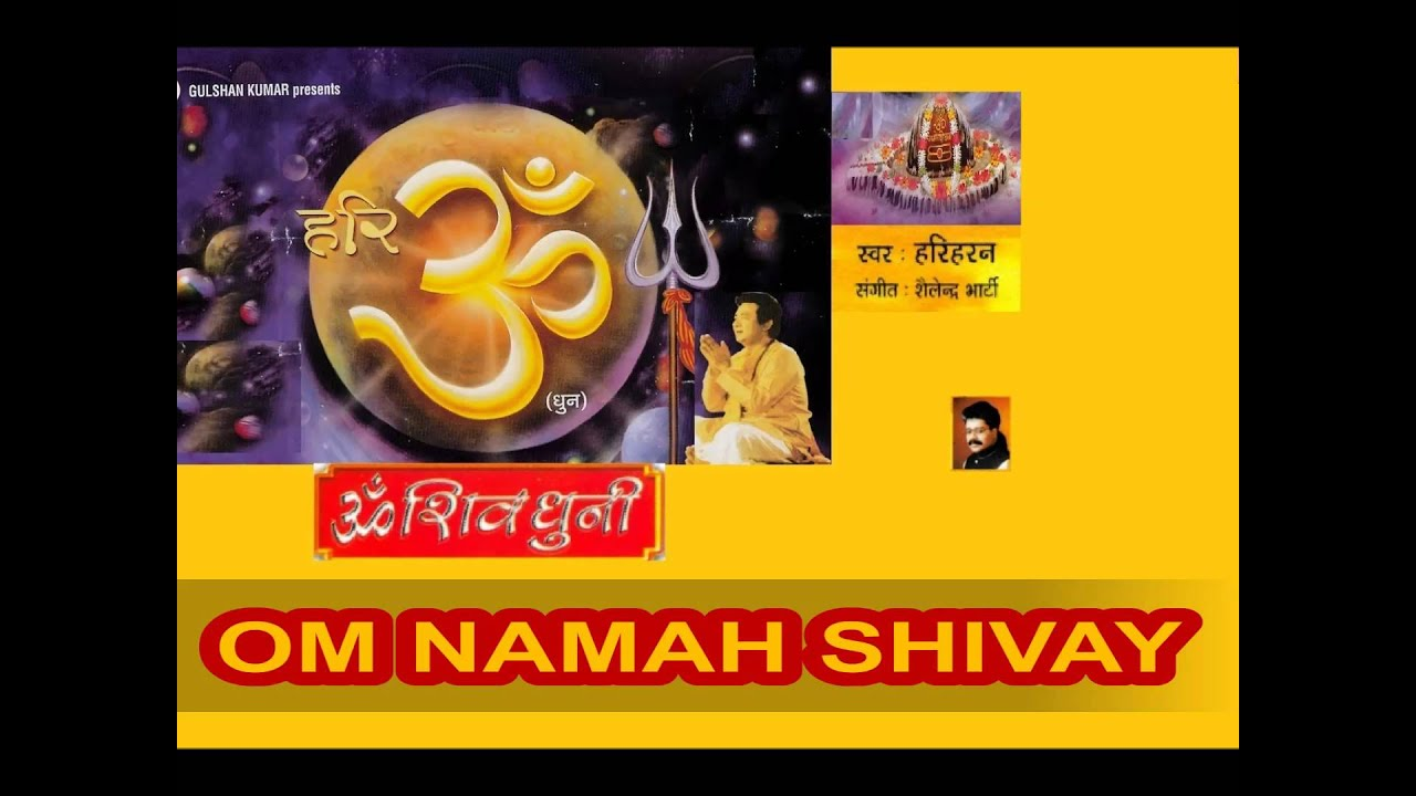 Om Namah Shivay Dhun By Hariharan I Full Audio Song Juke Box