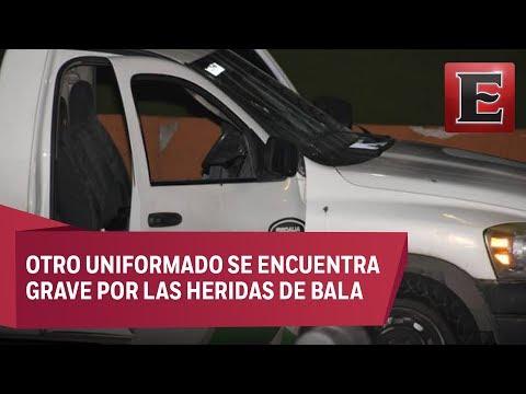 Ataque a policías en Chihuahua deja un agente muerto