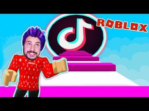 Roblox: ENTKOMME TIKTOK! KAAN GEFANGEN BEI DEN GANZEN TIKTOKERN! Escape Obby