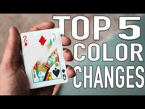 BEST COLOR CHANGES - Top 5
