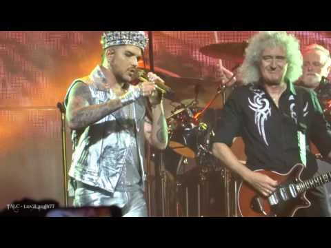 Q ueen + Adam Lambert - WWRY & WATC - Prudential Center - Newark, NJ