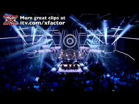 Little Mix - Super Bass - The X Factor 2011 [Live Show 1]