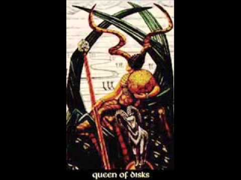 BOOK OF THOTH Crowley QUEEN OF DISKS