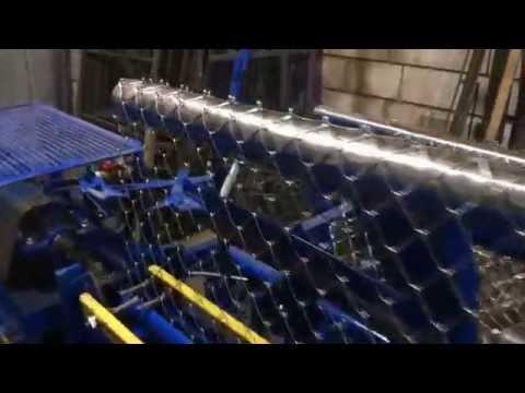 Станок автомат для навивки сетки Рабица с высотой рулона три метра!