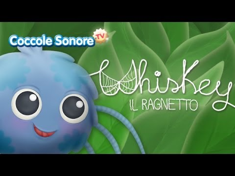 Whiskey il ragnetto - Italian Songs for children by Coccole Sonore