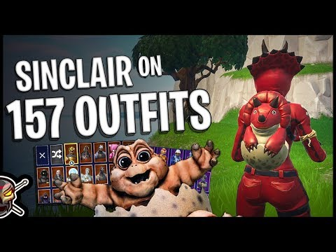 download SInclair Back Bling on 157 Outfits | Tricera Ops Hatchling Back Bling - Fortnite Cosmetics