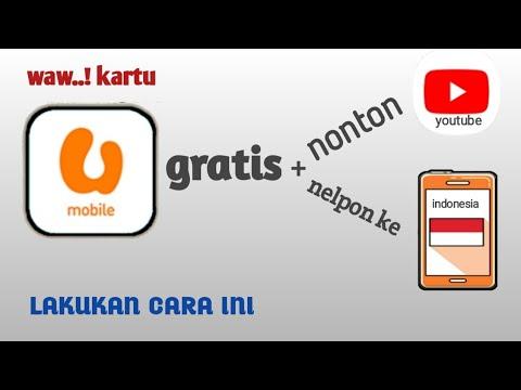 Cara Nelpon Gratis Ke Indonesia, Pakai Umobile [tutorial Ke 13]