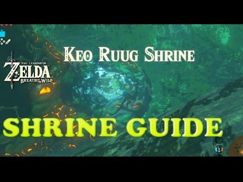 How To Solve Keo Ruug Shrine - Zelda Breath of the Wild - Korok Forest Shrine