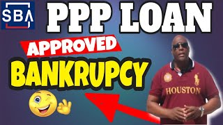HOW TO $25K SBA PPP LOAN APPROVED WITH A BANKRUPTCY reviews 2021? #short