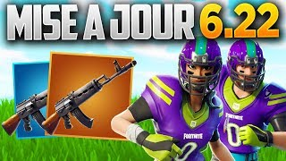 UPDATE 6.22 NEW ARME, BLITZ RETOUR - Fortnite x NFL! (Fortnite Patch Note 6.22)