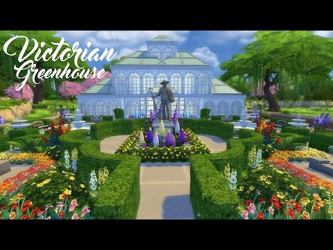 Sims 4 Speed Build | Victorian Greenhouse
