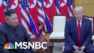 Donald Trump Fawns Over A Brutal Dictator On The Dictator's Own Turf | Deadline | MSNBC