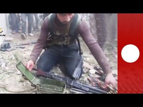 Handy-Videoaufnahme zeigt schockierendes Ausmaß des syrischen Bürgerkrieges