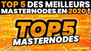Top 5 des meilleurs MasterNodes en 2020