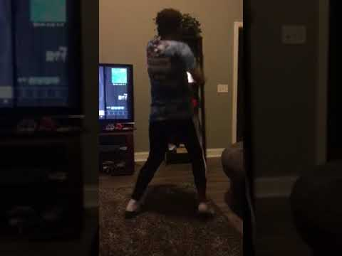 Carter dancing