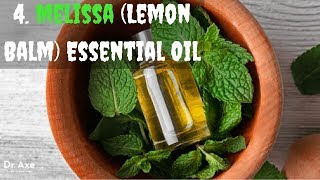 Essential Oils for Cold Sores | 4. Melissa (Lemon Balm) Essential Oil - clickbank review