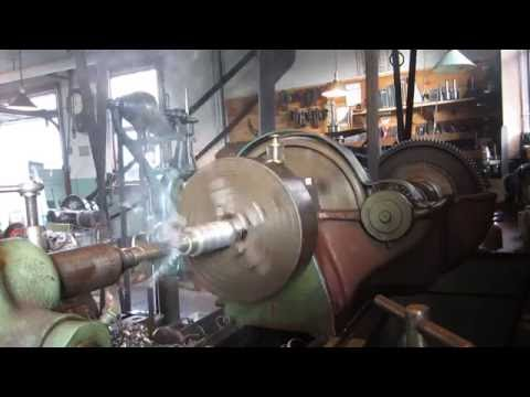 OLD STEAM POWERED MACHINE SHOP  11   Getting Back To Work