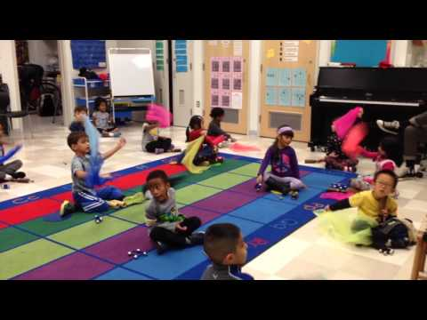 Kindergarten Music Class Exploring Instruments and Form