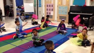 Kindergarten Music Class Exploring Instruments and Form