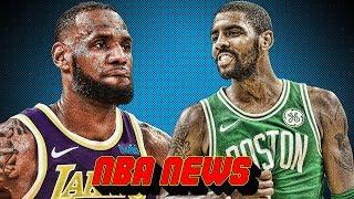 KYRIE APOLOGIZES TO LEBRON! LEBRON JAMES INJURY UPDATE! | NBA News