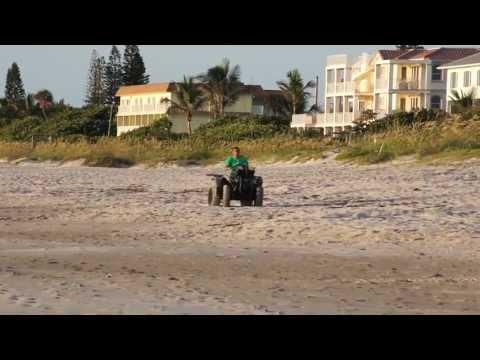 Florida Sunrise - Central Florida, Indialantic Boardwalk Sunrise - 6-19-2013 - HD / HQ