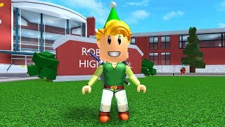 HOW TO BE LINK (FROM ZELDA) IN ROBLOXIAN HIGHSCHOOL!!