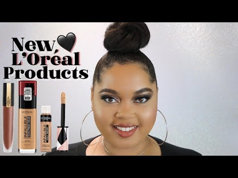 Trying New L'Oreal Products | Infalliable Fresh Wear Foundation, Concealer, + MORE thumbnail