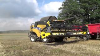 KOMBAJNY  NEW HOLLAND CX 8090 - HARVEST