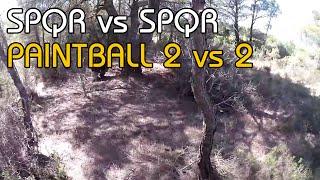 2 VS 2 - Paintball Scénario Camo en Foret - France