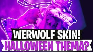HALLOWEEN THEME? WERWOLF SKIN | CROSSPLAY PS4 + XBOX + SWITCH | Fortnite Battle Royale