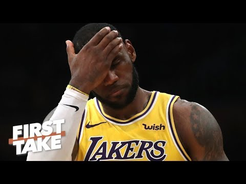 Chaos at every turn for LeBron and the Lakers – Stephen A. | First Take