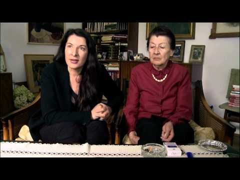 Marina Abramovic on Belgrade culture and her roots