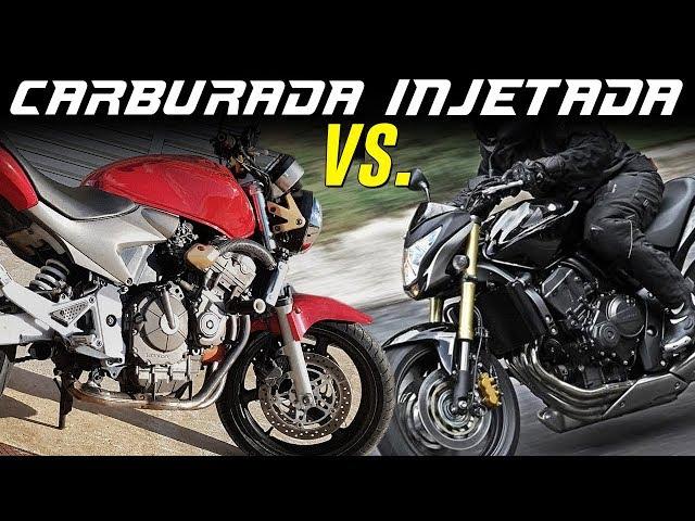 ⊲ RACHINHA ⊳ HORNET CARBURADA vs INJETADA - UNNOFICIAL