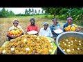 BIRYANI | MUTTON BIRYANI with Eggs | Traditional Biryani Recipe cooking in Village | Village Cooking