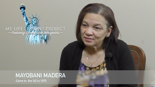 My Life Lessons Project Featuring Stories From Immigrants - Meet  Mayobani Madera