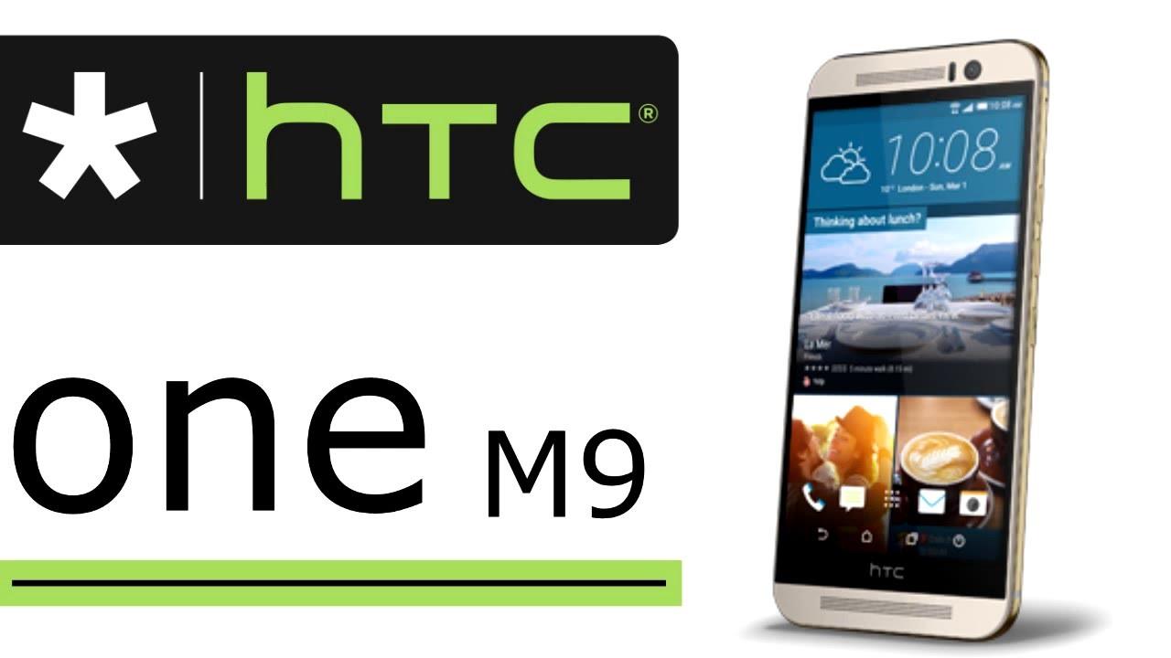 Мобильный телефон HTC One M9 32Gb Gold – обзор модели - YouTube