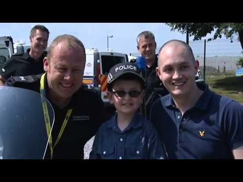 ITV Tyne Tees news  coverage of Ryan Compton