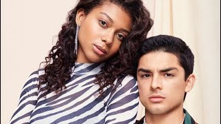 Sierra Capri and Diego Tinoco Cute Moments, ON MY BLOCK 2019