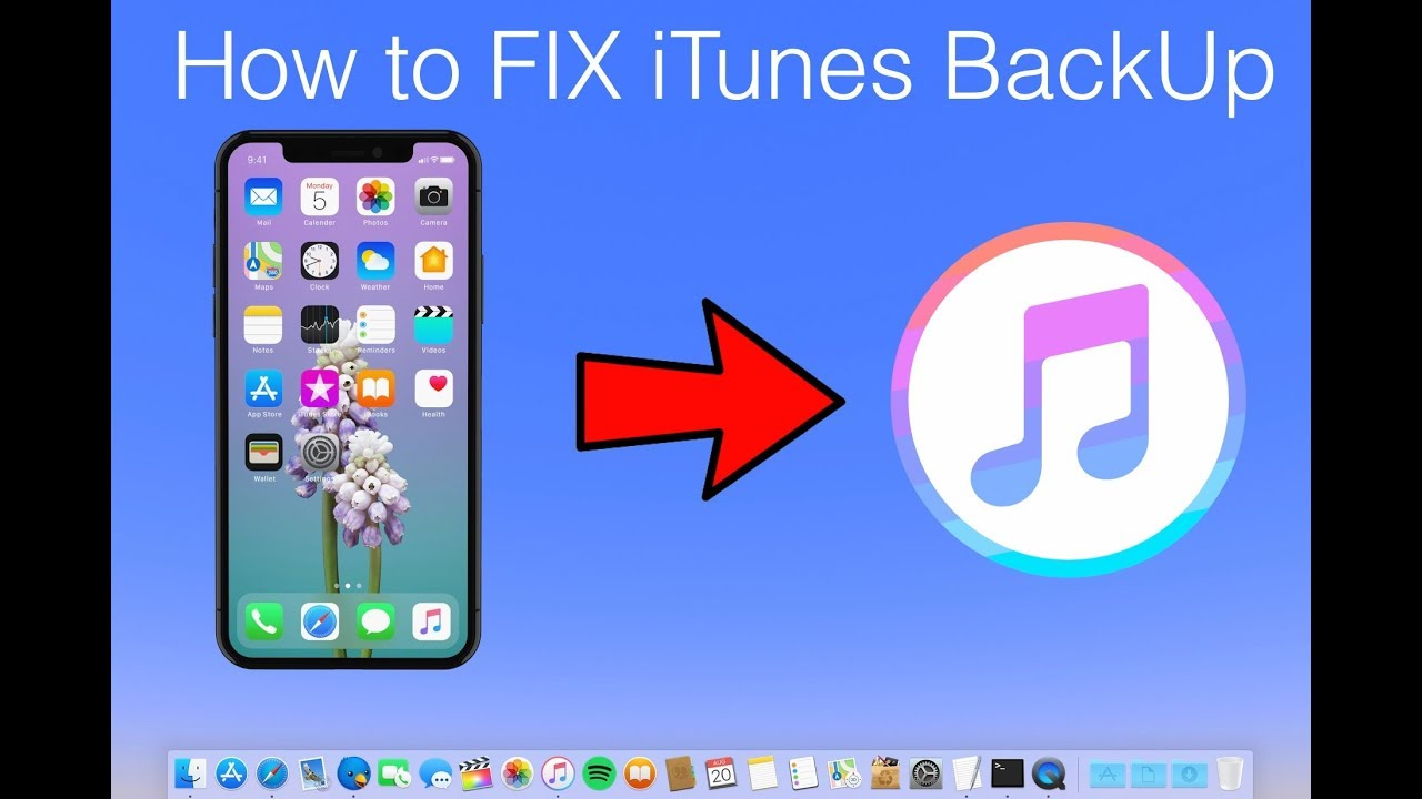 How to Fix iTunes Backup of iPhone and iPad