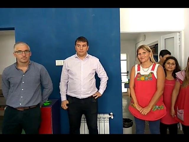 Inauguración nueva sala de Jardín de Infantes Esc. Ma Josefa Bustos