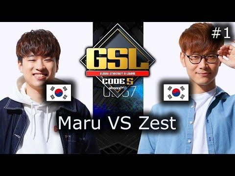 Maru VS Zest - Mapa 1 - TvP - FINAL - GSL Code S 2018 Season 2 - polski komentarz