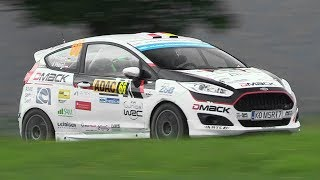 180HP Ford Fiesta R2 Rally Car 1.0 EcoBoost Turbo - Exhaust Sound & Backfires!