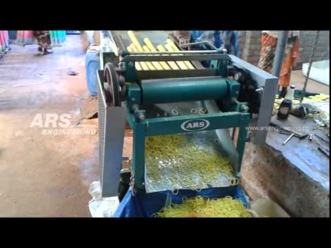 Rubber Band Cutting Machine Ars Engineering Youtube