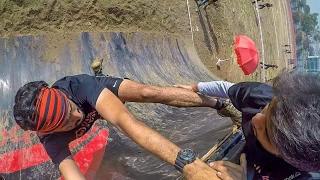 Devils Circuit Mumbai 2017 all 15 obstacles unedited | Gopro Hero 5 Black