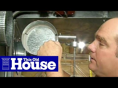How to Install a Forced-Air Bypass Damper | This Old House