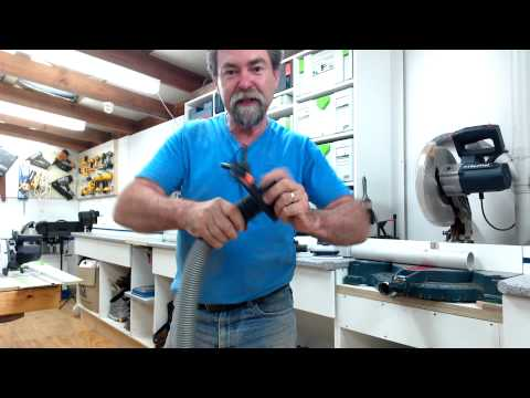 How to set up dust extraction for small tools with dave stanton festool